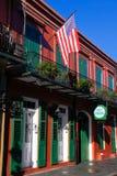 Tapotement Obriens de quartier français de la Nouvelle-Orléans images libres de droits