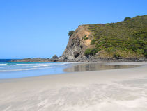 Tapotupotu Bay, New Zealand. A beach in Northland, close to Cape Reinga Royalty Free Stock Photos