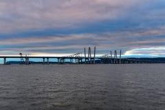 Tappan Zee桥梁-纽约 免版税图库摄影