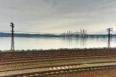 Tappan Zee Bridge - New York royalty free stock photo
