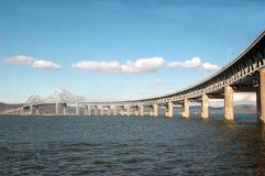 tappan zee för bro Arkivfoto