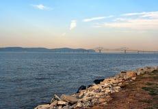 Tappanzee Bridge 1. Tappanzee Bridge stock image