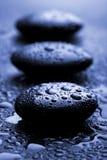tappar blank stenvattenzen Arkivfoton