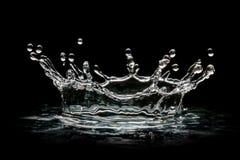 Tappar genomskinligt vatten royaltyfria bilder
