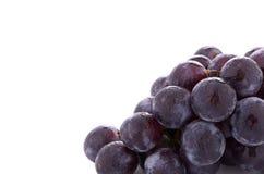 tappar rött vatten för druvor Arkivfoto