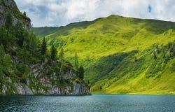 Tappenkarsee in alpi austriache, terra di Salzburger Immagini Stock