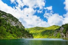 Tappenkarsee in alpi austriache, terra di Salzburger Fotografia Stock Libera da Diritti
