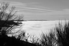 Tappeto della nuvola Fotografia Stock Libera da Diritti