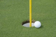 Tappeto erboso di golf Immagine Stock
