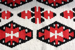 Tappeto orientale della lana Immagini Stock