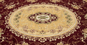 Tappeto persiano e coperta Fotografia Stock