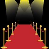 Tappeto rosso royalty illustrazione gratis