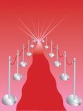 Tappeto rosso astratto royalty illustrazione gratis