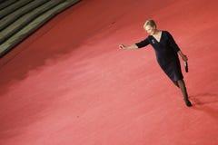 Tappeto rosso di Meryl Streep Fotografia Stock