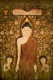 Tappezzeria del Buddha. Fotografie Stock
