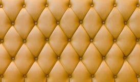 Tappezzeria del cuoio genuino Fotografie Stock