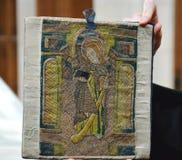 Tappezzeria del XV secolo Fotografia Stock Libera da Diritti