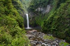 Tappia Water Falls, Banaue, Philippiens. Stock Photos