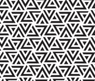 TAPPING STRIPED TRIANGLE. GEOMETRIC SEAMLESS VECTOR PATTERN. MODERN STYLISH TEXTURE. SEAMLESS VECTOR PATTERN. HEXAGON TEXTURE. LINEAR BACKGROUND. SHAPE ELEMENTS Royalty Free Illustration
