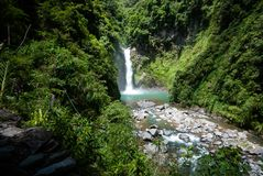 Tappiya Falls, Batad, Banaue, Ifugao, Philippines.  Royalty Free Stock Photos