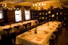 Tappning bommar för privat partirum för restaurangen Royaltyfri Fotografi