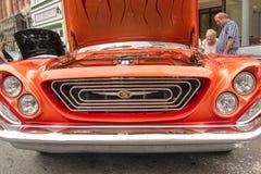 Tappning Chrysler 1962 Arkivbilder