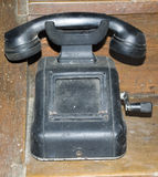 Tappning - Dusty Old Phone Royaltyfri Bild