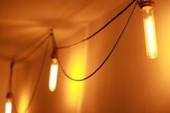 Tappning Edison Bulb Arkivbild