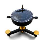 Tappning- eller antikvitetNephoscope för att mäta för moln Arkivfoton