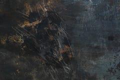 Tappning färgad texturerad bakgrund för grunge järn Royaltyfria Bilder
