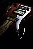tappning för 05 gitarr Royaltyfria Bilder