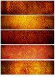 tappning för bakgrundsbanertexturer arkivfoton