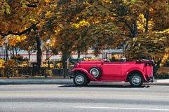 tappning för bilhavana gata Arkivfoto