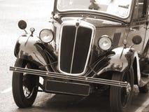 tappning för bilsepiasignal royaltyfri fotografi