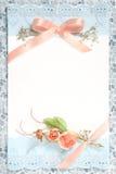 tappning för blankt papper Royaltyfria Foton