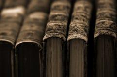 tappning för boksamling Arkivbilder