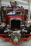 tappning för brandlastbil Fotografering för Bildbyråer