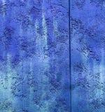 Tappning för Colorfull vibrerande utomhus- gropig djupblå färgperspektiv Royaltyfri Fotografi