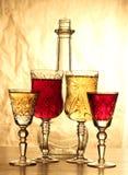 tappning för flaskexponeringsglas Royaltyfria Bilder
