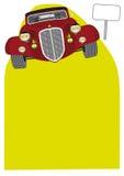 tappning för främre sikt för bil Stock Illustrationer