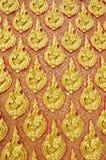 tappning för guld- stil för konst thai traditionell Royaltyfria Bilder