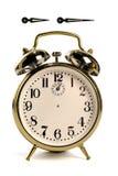 tappning för minut för timme för klockahänder Arkivbilder
