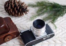 tappning för 35mm kameraslr Royaltyfria Foton