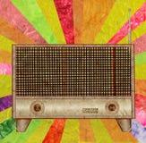 tappning för radio för symbolsmullbärsträdpapper Arkivfoton