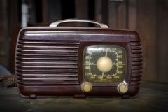 tappning för radio s royaltyfria foton