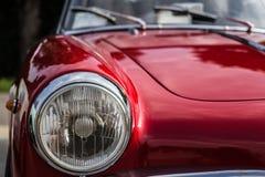 tappning för sepia för bilbil retro Royaltyfria Bilder