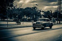 tappning för sepia för bilbil retro Royaltyfri Bild