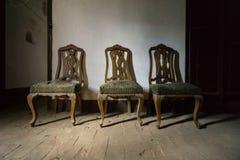 tappning för stolar tre Royaltyfri Foto