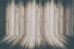 Tappning för textur för för den Wood väggen och golvinre och bakgrund tonar Arkivbild