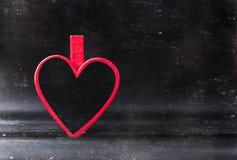 tappning för valentin för dagvykort s Älska begreppet för dag för moder` s och dag för valentin` s Lyckliga hjärtor för dag för v Royaltyfri Foto